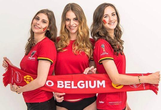 Болельшицы Бельгии