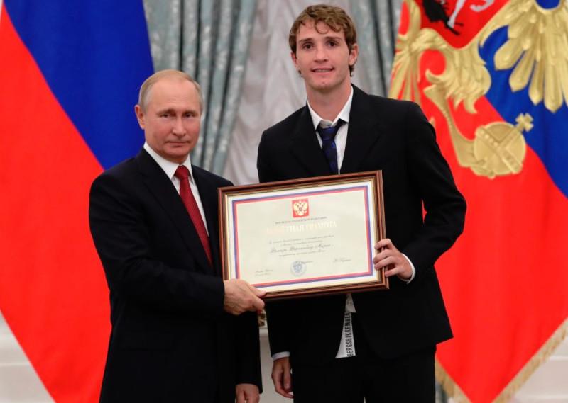 Путин в футболисты МАРИО