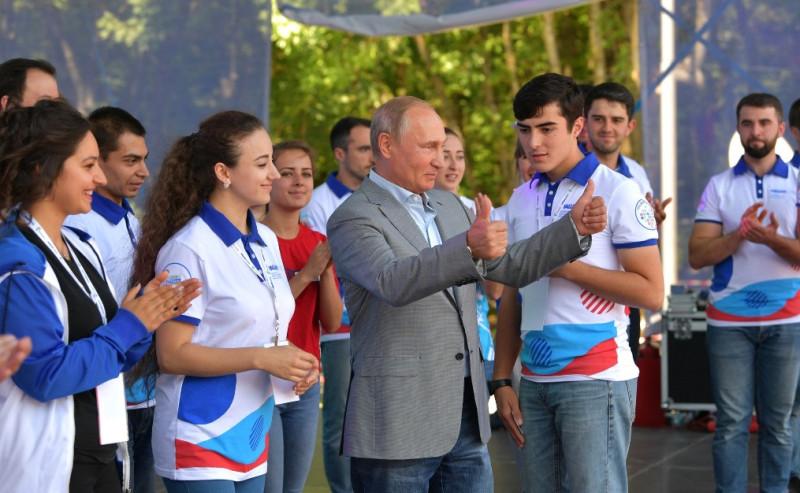 Путин и соцсети