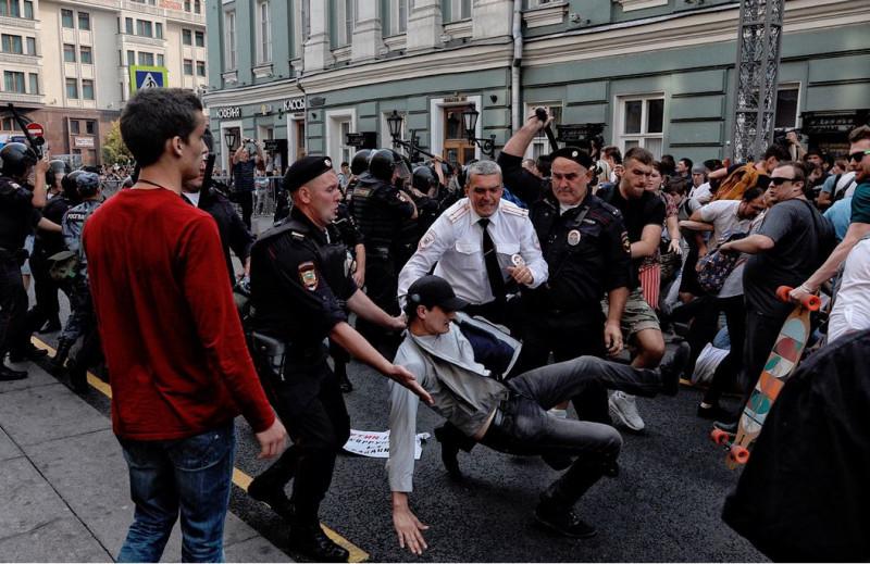 Улица избиение