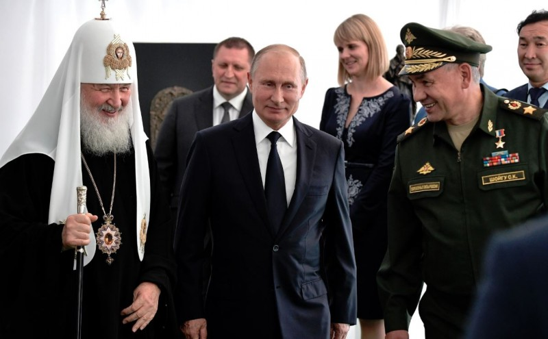 Путин в парке Патриот 2