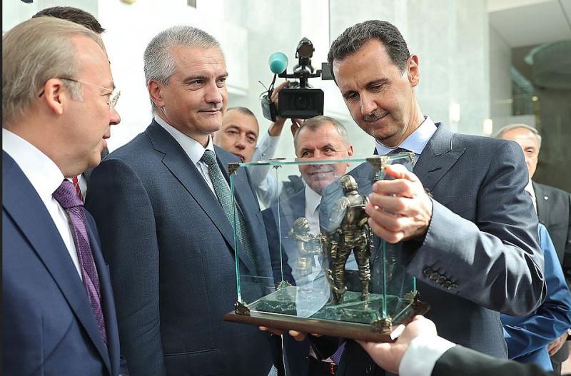 Аксенов в Сирии