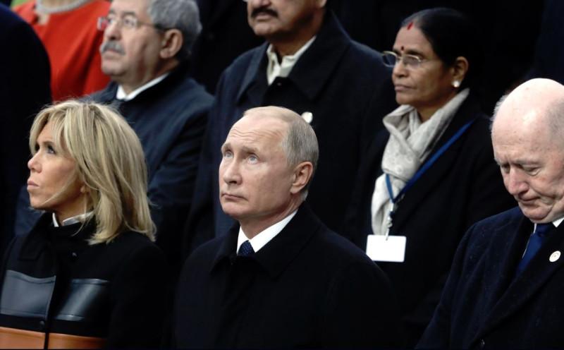Путин в Париже 1