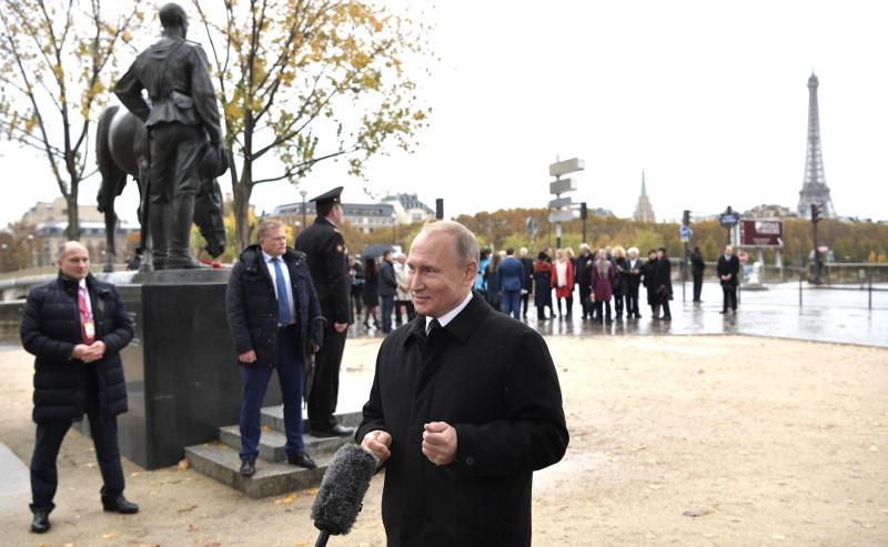 Путин и охрана