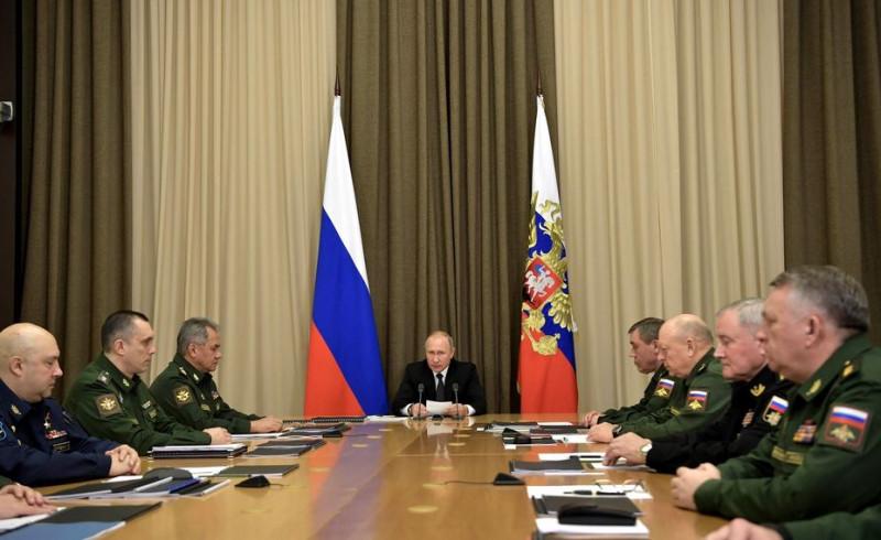 Путин совешание