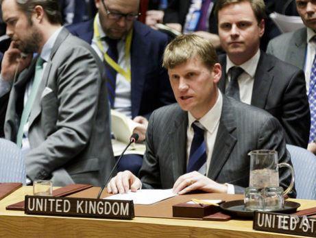 ООН Представитель Британии