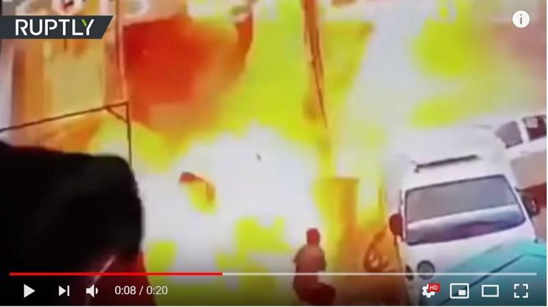 Сирия Взрыв