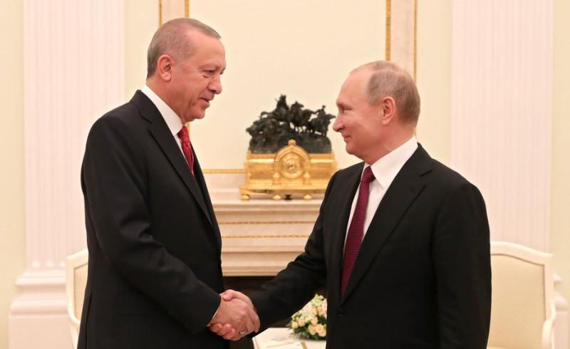 Эрдоган в Москве