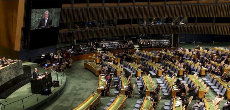 Порошенко в ООН 0