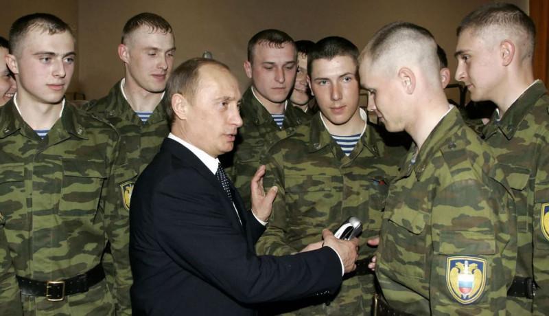 Путин и призывники