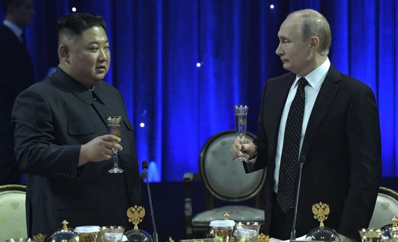 Ын и Путин
