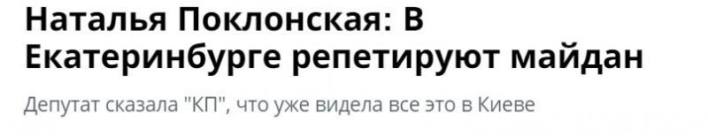 Поклонская  Майдан