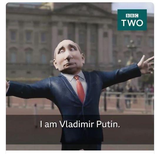 Путин на Би Би Си