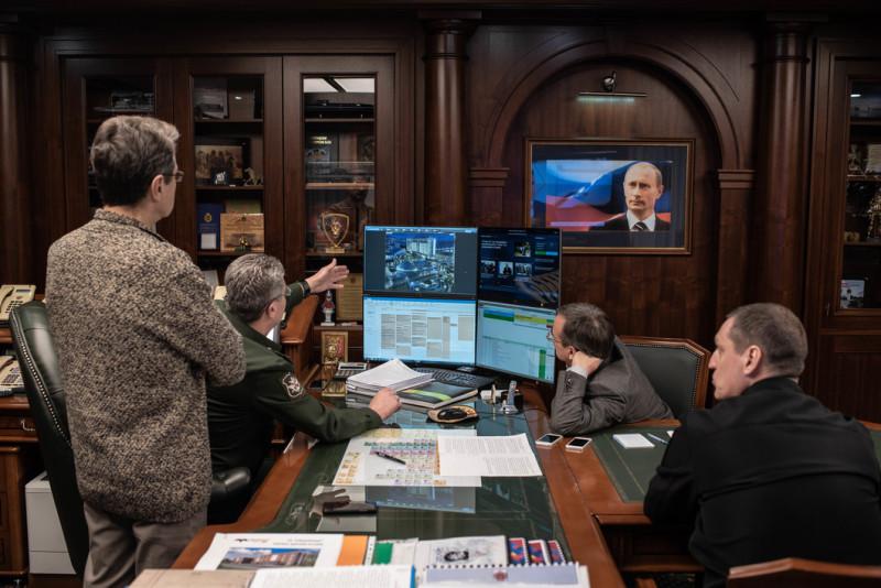 В кабинете у Иванова