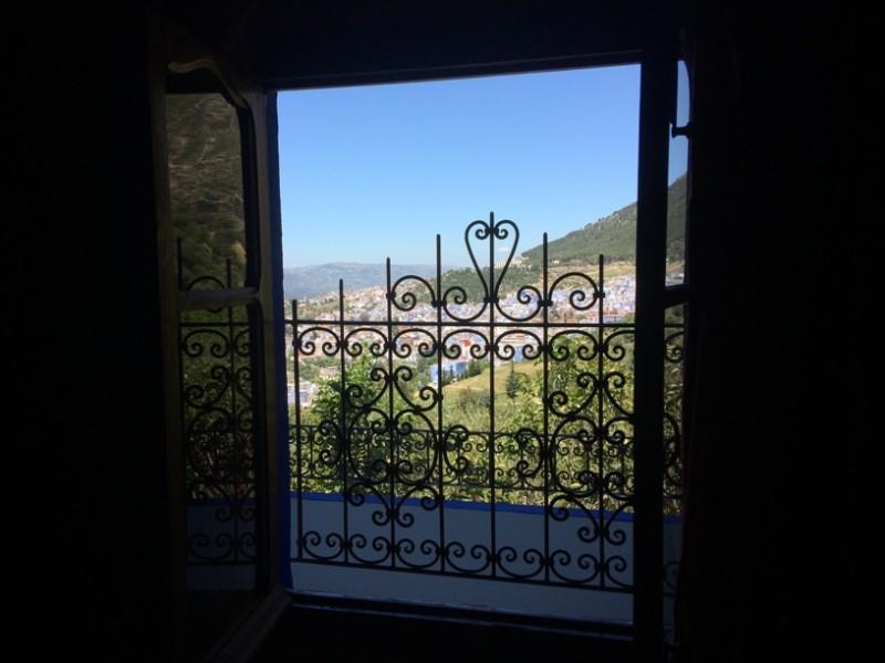 Шавен. Вид из окна