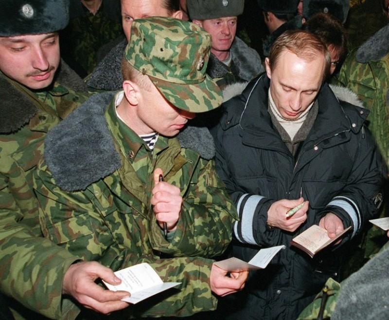 Путин в Чечне 1