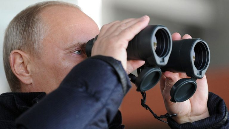 Путин и око
