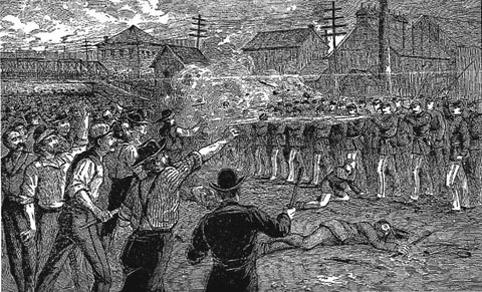 Чикаго 1 мая 1886