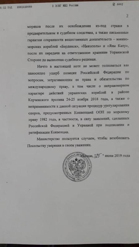 МОСКВА КИЕВ переписка 2