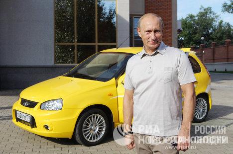 Путин за рулем 3