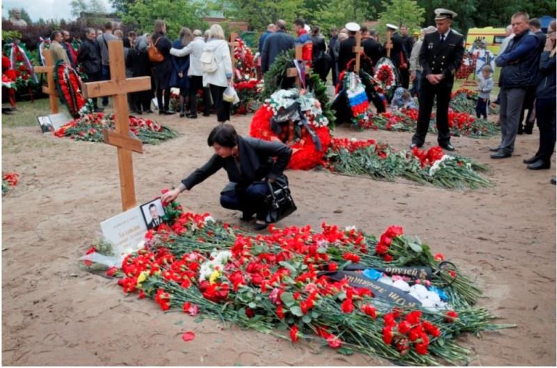 Похороны подводников