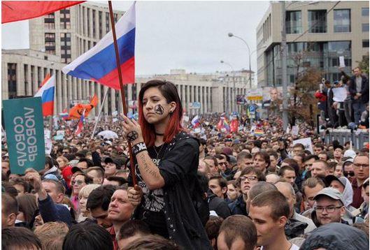 Митинг на САхарова 10 8 2019