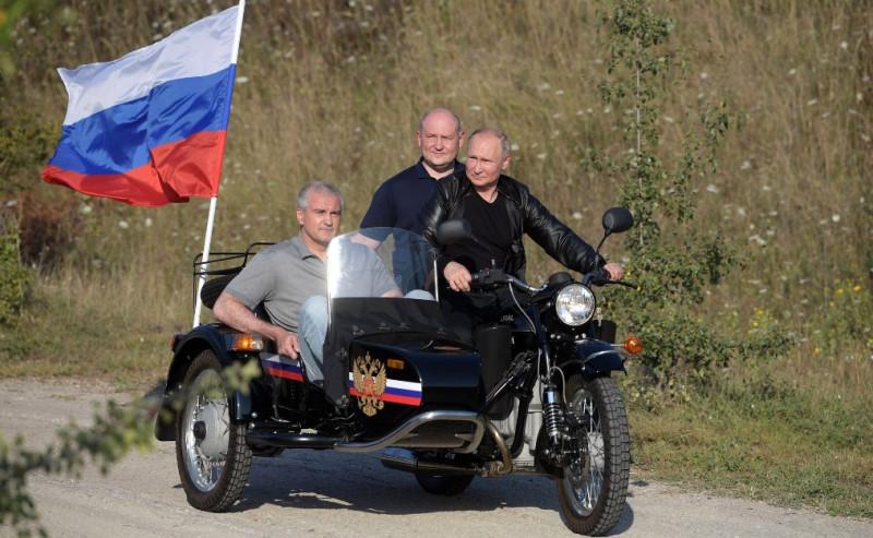 Путин на мото 2