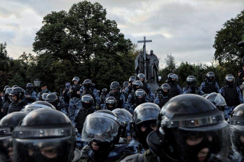 10 августа после митинга