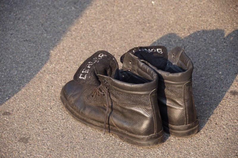 Ботинки Сенцова