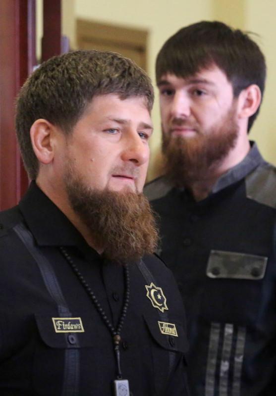 Рамзан Кадыров и племянник