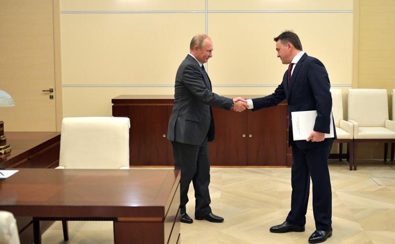 Путин и Воробьев