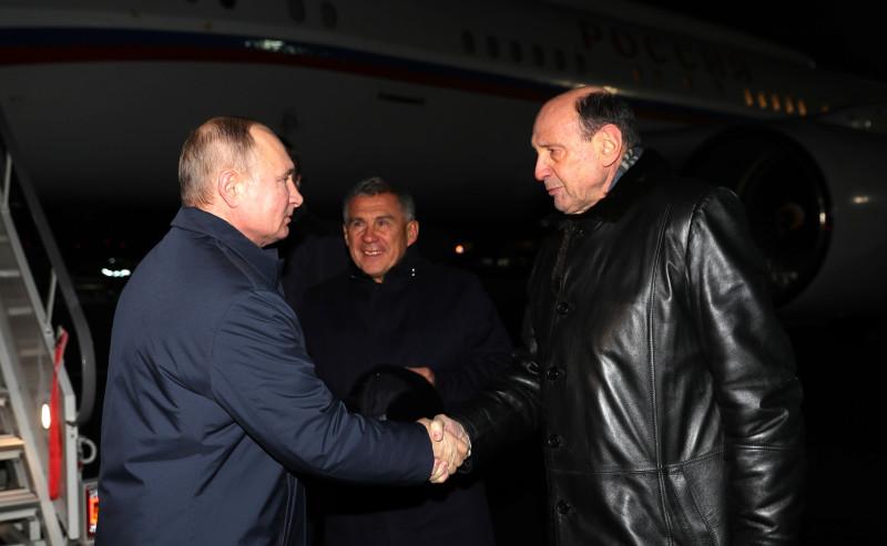 Путин в Н Челнах