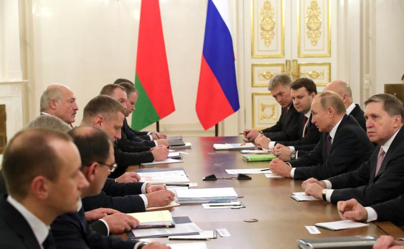 Лукашенко и Птуин