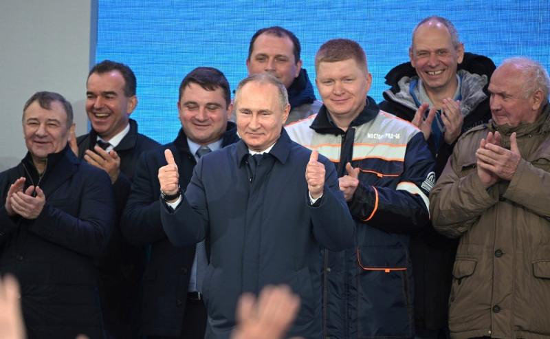 Путин Мост Ротор