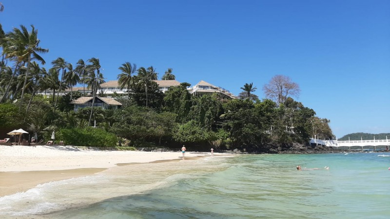 Пляж 4 января 2020