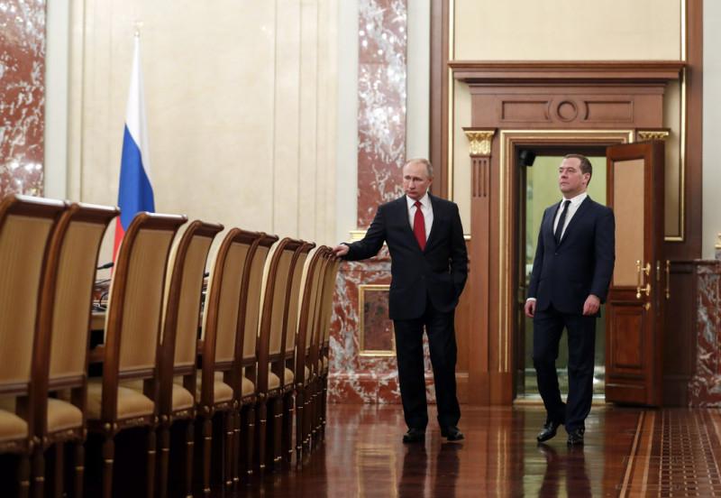 Путин и Медведев 2