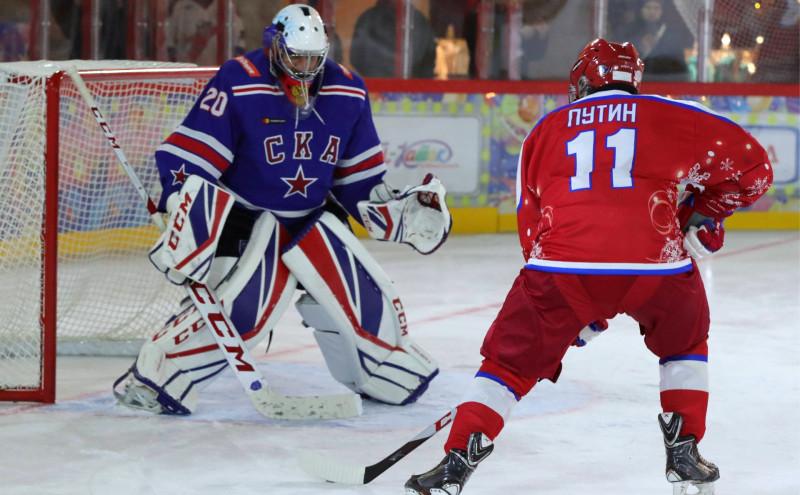 Путин и хоккей