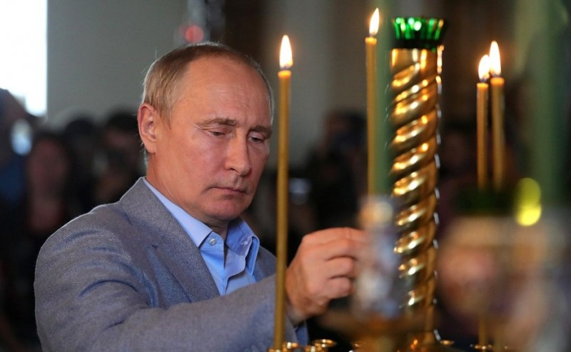 Путин и вера