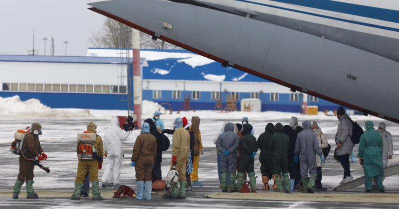 Китай эвакуация россиян 2