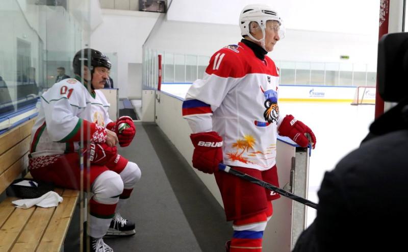 Путин и Лукашенко 2