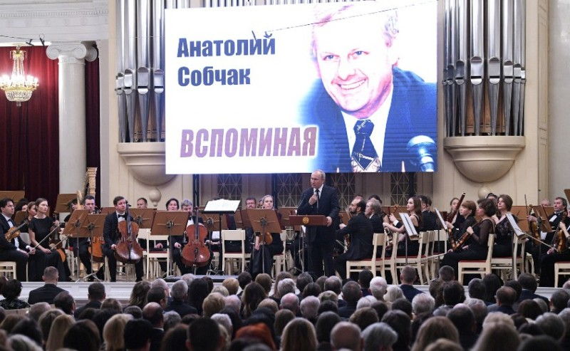 Путин и Собчак 2