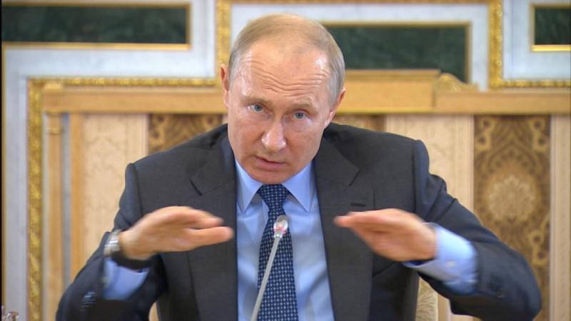 Путин и нефть
