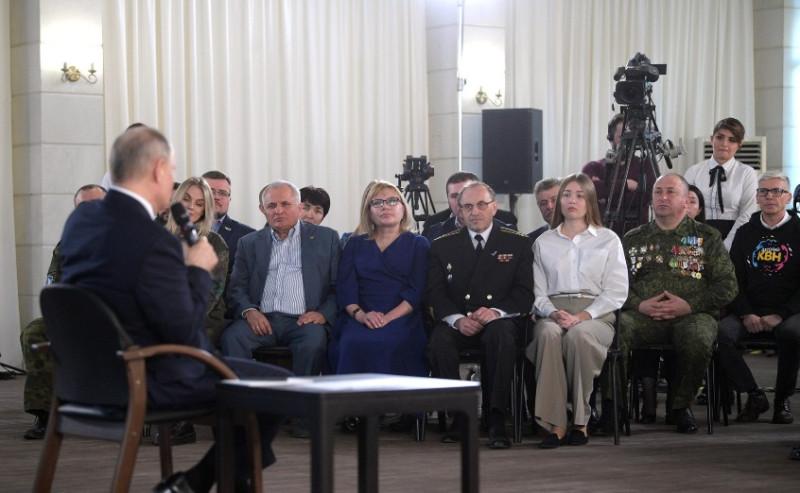 Путин встреча 1