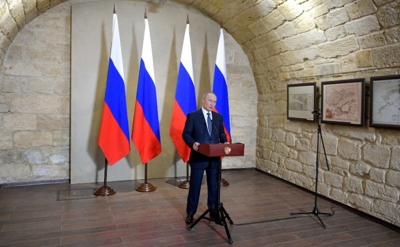 Путин в Крыму награды 2