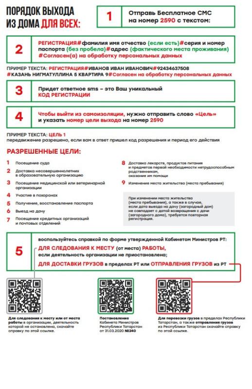 Как выйти из дома в Казани