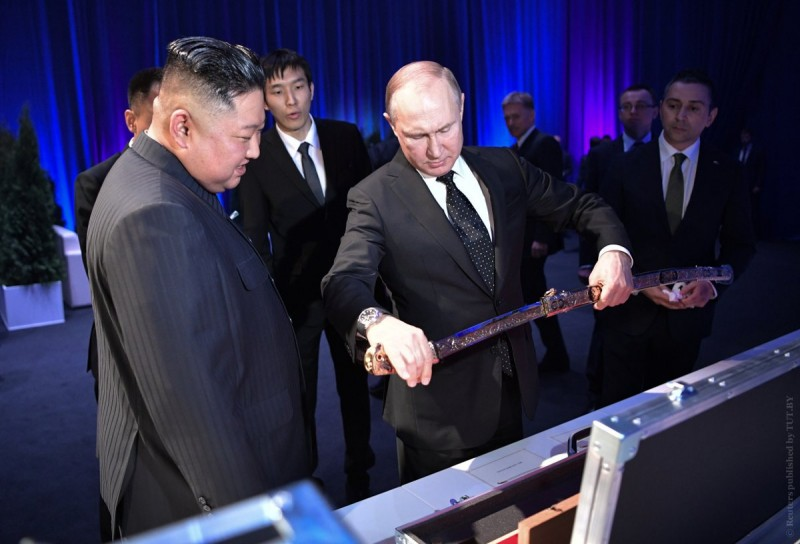 Путин и Ын