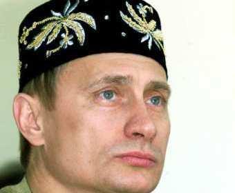Путин в тюбетейке