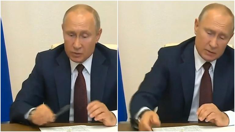 Путин ручка