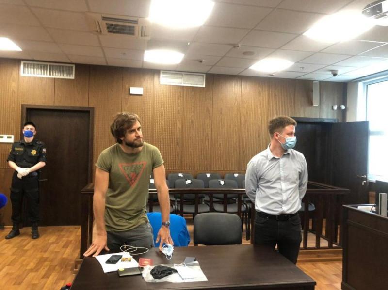 Верзилов в суде