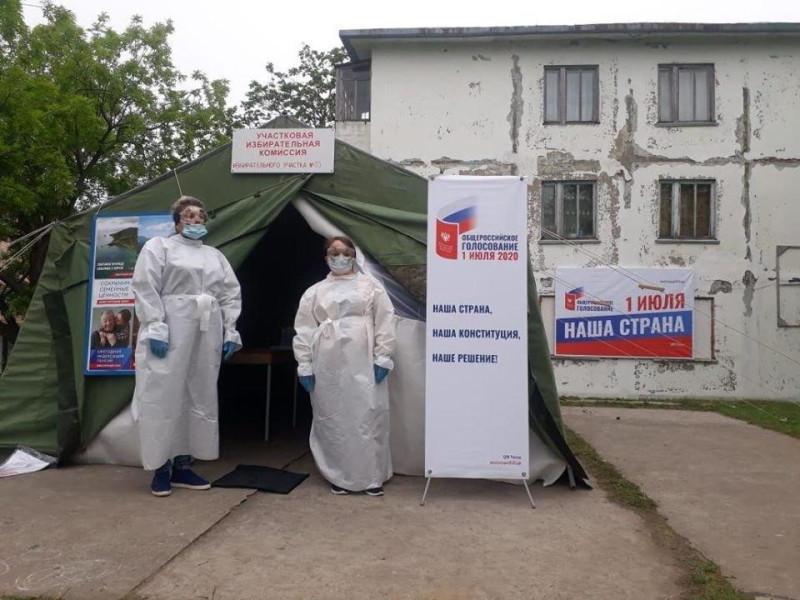 голосование на Камчатке